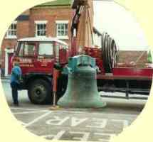 A bell arriving
