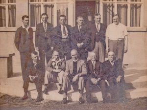 Pattingham band in 1934